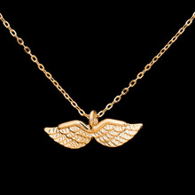 GORGEOUS TALE 10pcs Vintage Jewelry Accessories Chunky Angel Wing Necklace for Women Men Silver Gold Layer Tattoo Choker