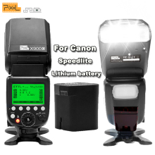 Pixel X900C X900 E-TTL S1/S2 2.4G HSS 1/8000S Wireless Lithium Battery Flash Speedlite for Canon DSLR Camera with LED Light Lamp(China)