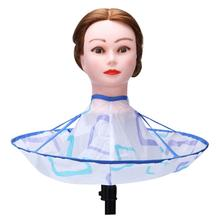 Pro Hair Cutting Cape Wrap Hairdresser Waterproof Collar Cloth Salon Barber Gown Cape Wrap Hairdressing Haircut Dropshipping au3(China)