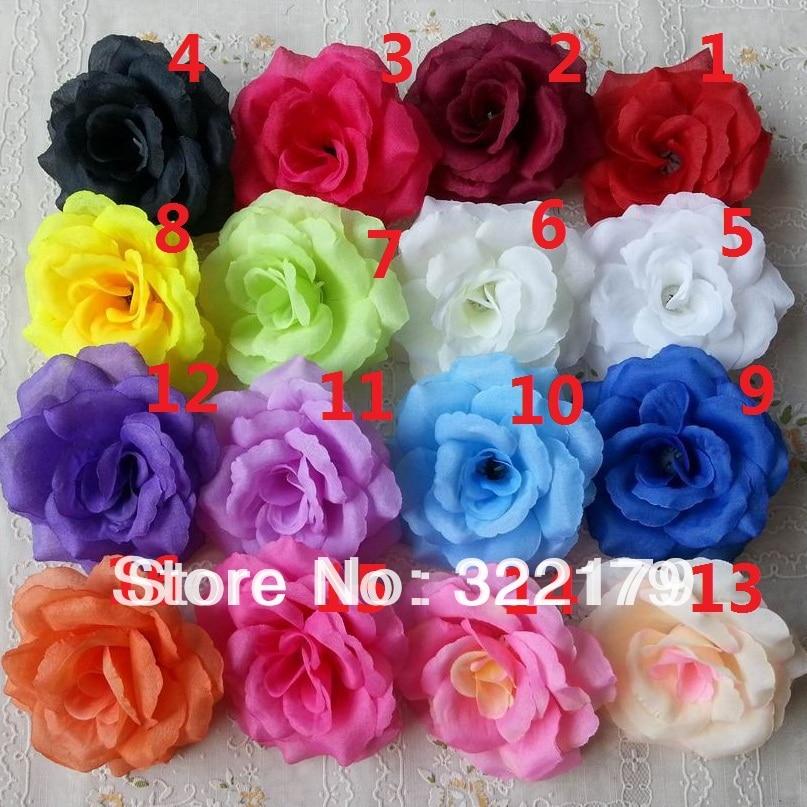 10x silk flower heads bulk 8cm artificial rose heads wedding silk flowers wholesale fake silk roses 100 heads artificial flower buds 3 bulk wedding floral mightylinksfo