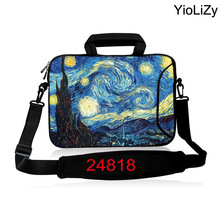 9.7 11.6 13.3 14.4 15.6 17.3 inch Laptop Shoulder Case mini PC Notebook sleeve computer messenger bag Handbag Briefcase SB-24818