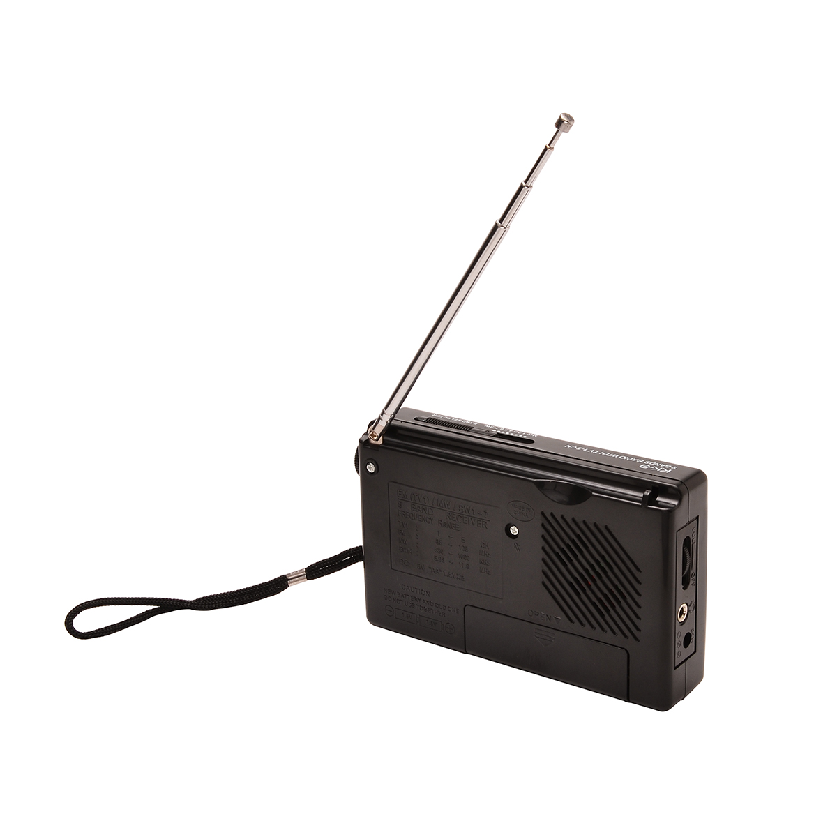 Portable Full World Band FM Stereo/MW/SW Radio Receiver Alarm Clock