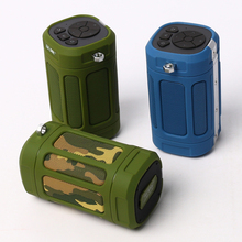 Bluetooth wireless outdoor sport speaker portable loud speaker music amplifier for cycling bike with TF Card reader and FM radio(China)