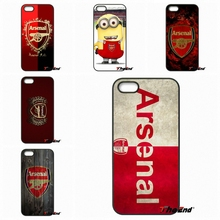 For Samsung Galaxy Note 2 3 4 5 S2 S3 S4 S5 MINI S6 S7 edge Active S8 Plus For Arsenal Football Club Logo Big Fans Phone Case(China)