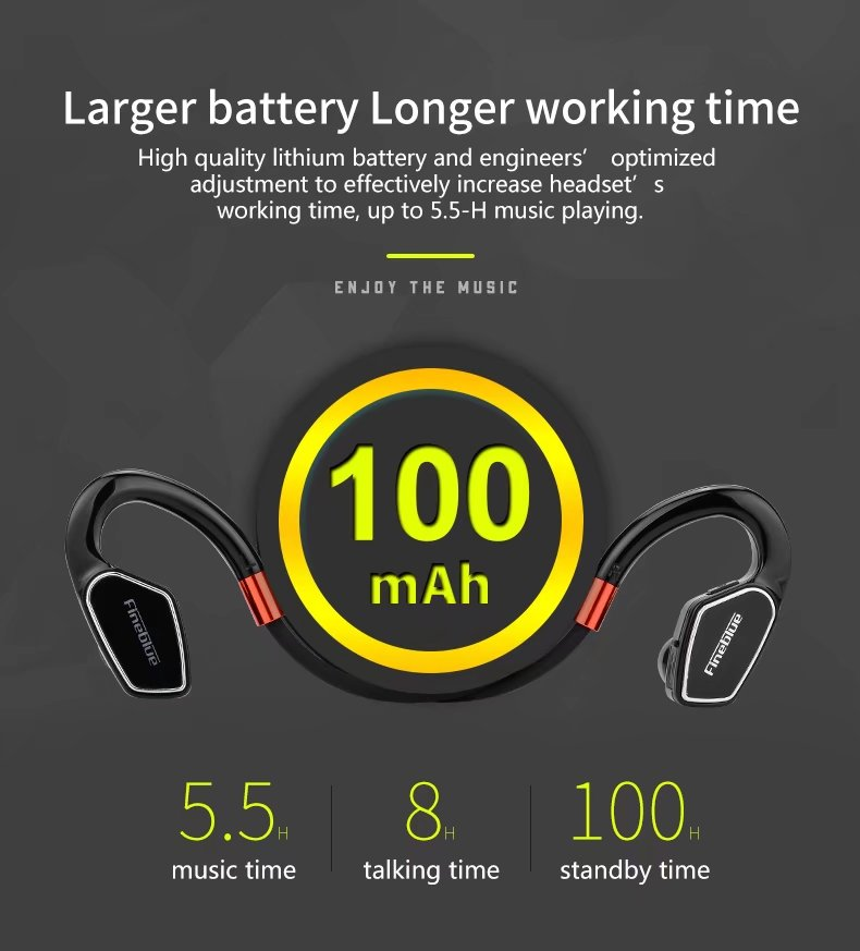 Original FineBlue M3 Bluetooth headset wireless headphones for mobile phone sport stereo bluetooth earphone for iphone android