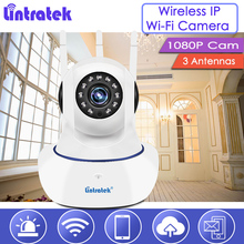 Buy lintratek Wi-Fi IP Camera 1080P Wireless Security Cam 2MP Baby Monitor Nanny Dome Camera 1080p 3 Antennas Surveillance S39 for $29.74 in AliExpress store