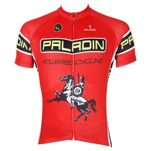 PALADIN Men Cycling Jerseys pro bike jersey Sports Team mtb Cycling clothing bicycle jersey Red Cycling wear