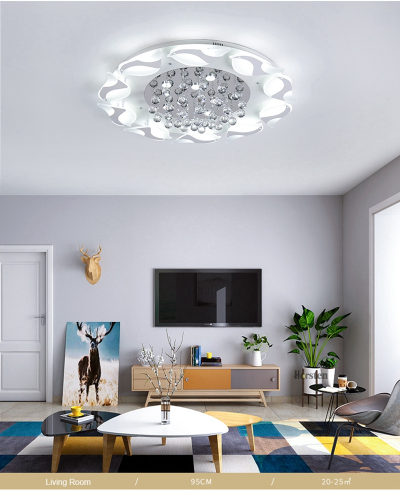 Modern Luxury Bird Crystal Ceiling Lamps With Remote Controller Dia957555cm Crystal Ceiling Chandelier For Living Room Bedroom (10)