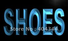 LB999- Shoes Supplier Shop Display Metal Light Sign home decor shop crafts(China)
