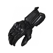 Super affordable motorcycle Riding gloves road racing gloves off-road full leather carbon fiber Protection knight gloves(China)