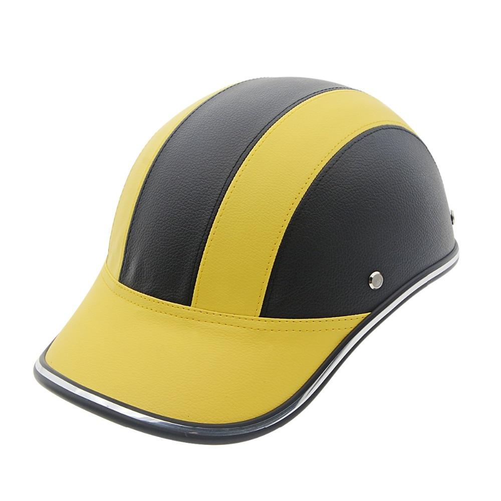 Brand New Unisex Motorcycle Helmets Baseball Cap Helmet Summer Electric Vehicle Motorbike Helmets Protective Gear Half Helmet