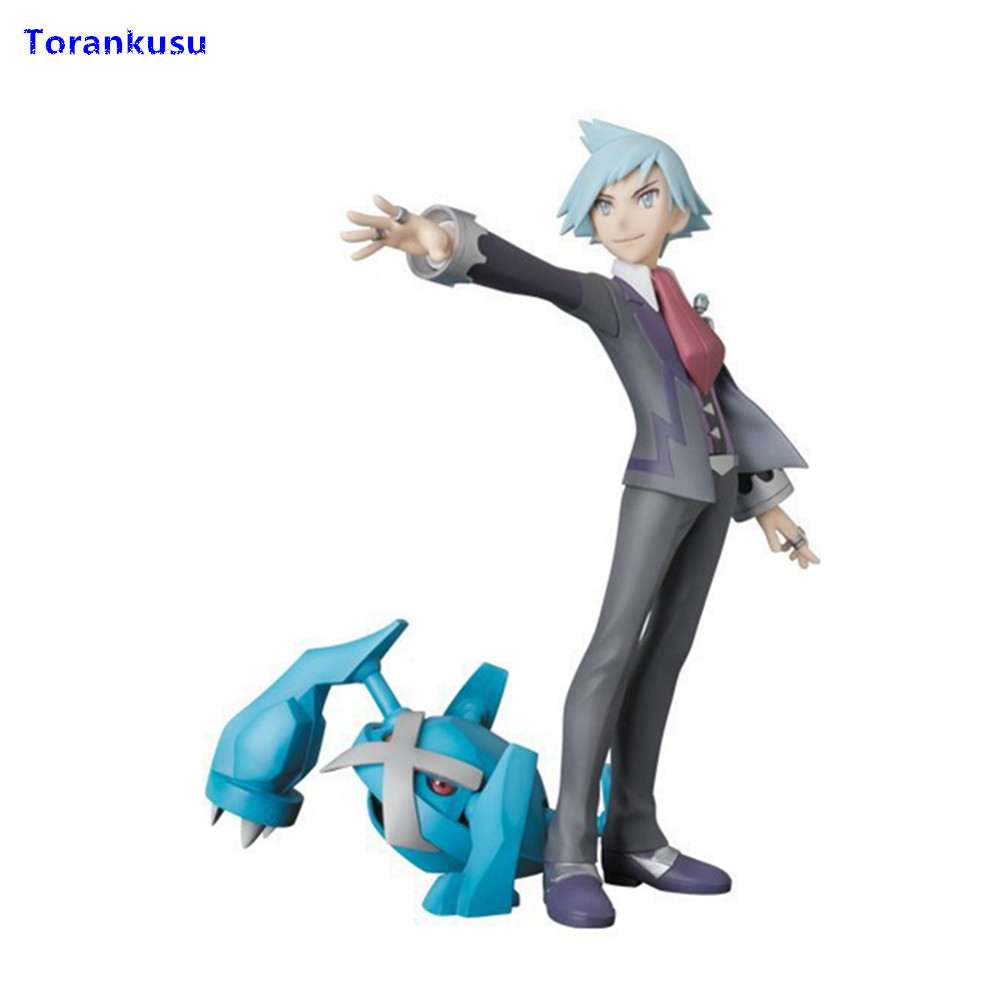 Steven Stone Metagross Collectible Action Figures PVC Kids Gift Children Doll Hot Toys Man Gift For Birthday Model Figma XP