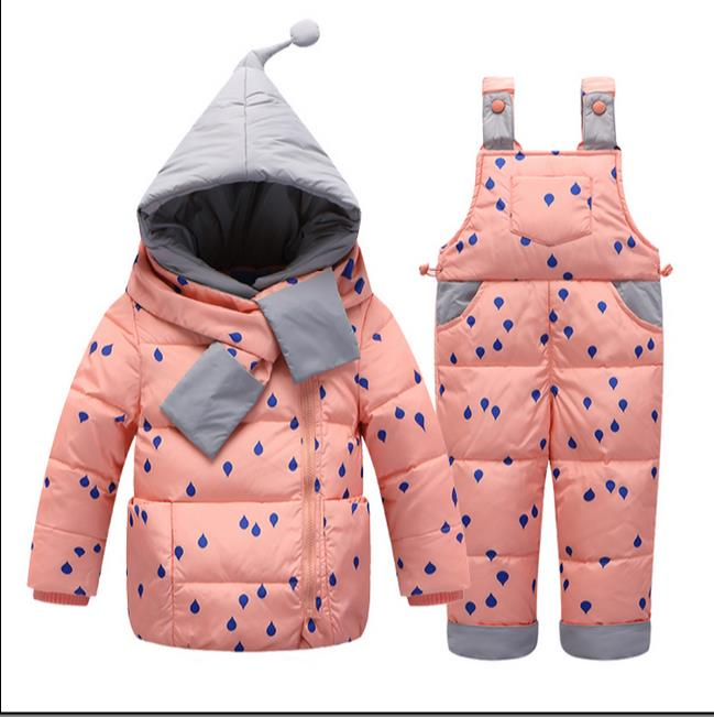 2017 hot kids baby clothes boys snowsuit girls coats  waterproof jackets for kids winter clothing setОдежда и ак�е��уары<br><br><br>Aliexpress