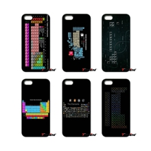 For iPod Touch iPhone 4 4S 5 5S 5C SE 6 6S 7 Plus Samung Galaxy A3 A5 J3 J5 J7 2016 2017 Table of chemical elements Case Cover