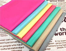 50x160cm 8 Color Plain Pure Skin Camel Grey Blue Pink Yellow Colors  Printed Cotton Fabric  For DIY sewing Doll Cloth bedding qu