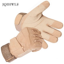 New Mens Military Tactical Gloves Full Finger M-XL Knuckle Protection Free shipping(China)