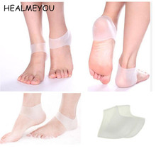 Buy 1Pair New Silicone Foot Care Moisturizing Gel Heel Socks Cracked Foot Skin Care Protector Feet Care Men/Women for $2.53 in AliExpress store