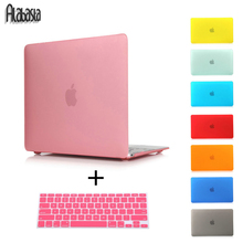 Alabasta  Rubberized Crystal/Matte Hard Laptop Case Cover For Macbook Pro 13 15 Retina Air 11 13+ Keyboard Cover+screen film