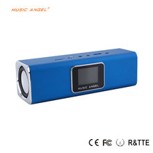 Original New MUSIC ANGEL JH-MAUK5 Portable Speaker LCD Screen Active radio FM USB Wireless Portable Mini Speaker with SD/TF