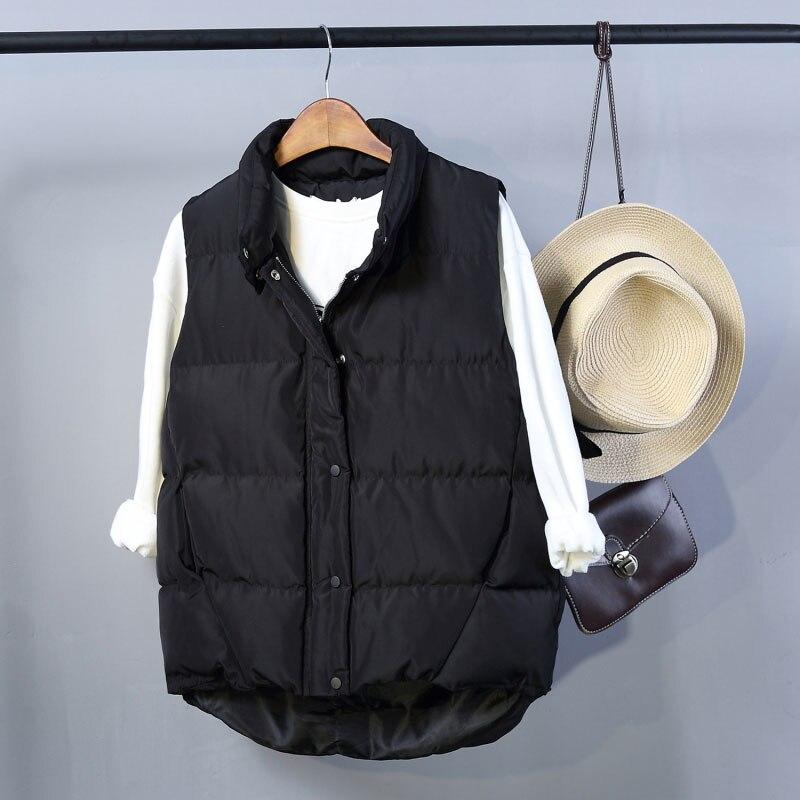 2017 Autumn Winter Down Coat Women Ladies Gilet Colete Feminino Casual Waistcoat Female Sleeveless Cotton Vest Jacket Plus SizeОдежда и ак�е��уары<br><br><br>Aliexpress