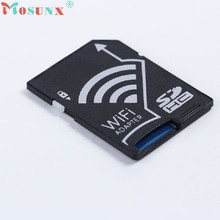 Adroit New Micro SDHC Card to WIFI SDHC Card Adapter Wireless Memory Card Adapter For DV Camera XS7329 drop shipping
