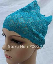H392 comfortable lace muslim underscarf,free shipping,fast delivery,assorted colors
