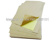 wholesale 1000 sheets office self-adhesive sticker sheets  A4 blank brown kraft paper label for laser printer