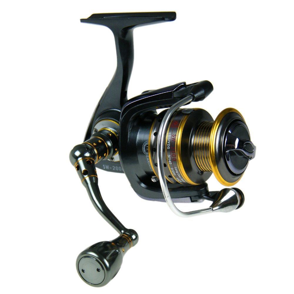 Spinning Reel 11+1 BB SW3000 Front Drag Saltwater Freshwater Sea Fishing Reels coils carretilha Metal Handle Fishing windlass<br>