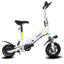 12inch folding electric bike  mini electric folding bicycle Aluminum alloy bracket Light electric bicycle Smart electric bike