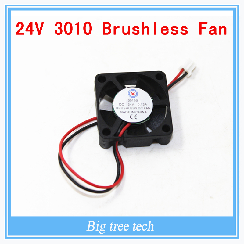 Free shipping  3010s 30MM 30 x 30 x 10MM 24V 2Pin DC Cooler Small Cooling Fan FOR 3D PRINTER PART<br><br>Aliexpress