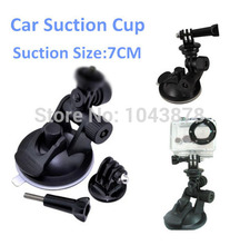 Gopro Accessories Car Sucker Holder Mount Tripod for Go Pro Hero3 Hero 4 3 3+ SJ4000 SJ5000 Mini Camcorder