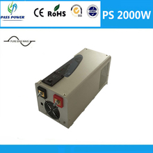 UPS Function Charger Inverer 2000W Low Frequency Pure Sine Wave Inverter