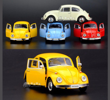 High Simulation Exquisite Model Toys Volkswagen Beetle 1967 Retro Classic Car Models 1:36 Alloy Cars Model Excellent Gifts
