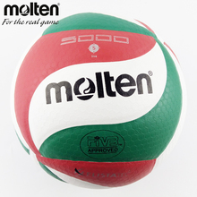 Molten Volleyball V5M 5000 PU Leather Match Official Size 5 ball Indoor&Outdoor Training Material Volei Beach ball