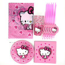 Online Get Cheap Hello Kitty Theme Birthday Supplies Aliexpresscom