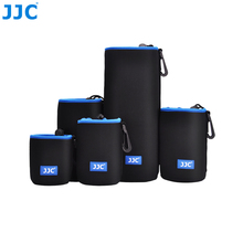 JJC Soft Lens Pouch Neoprene Camera Bag Photo SLR DSLR Case for Canon Nikon Olympus(China)
