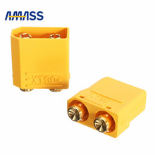 Buy AMASS XT90PB Plug 4.5mm Male Female Banana Plug Connector RC Battery Lipo Motor RC Models Connection Cable Toys DIY for $2.99 in AliExpress store