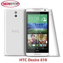 "HTC Desire 610 Original 610 Android 4.4 Cell Phone Quad core 4.7"" WIFI GPS 8MP camera 1GB+8GB Hot Sale cheap mobile phone"