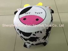Inflatable Chair Cow Design Stool For Kids Perfect For Indoor and Outdoor Use Inflatable Seats+free inflator