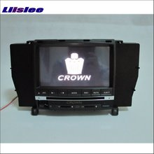 Liislee For Toyota Crown Royal Majesta S180 2003~2008 Radio CD DVD Player GPS Navigation Audio & Video Stereo Multimedia System