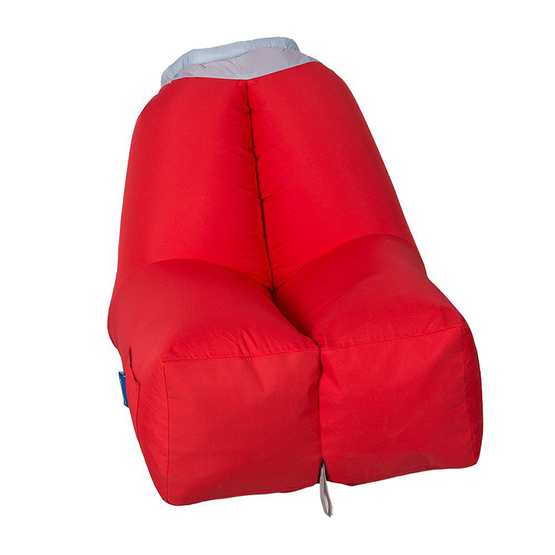 Fast Inflatable Lazy bag Air Sleeping Bag Camping Portable Air Sofa Beach Bed Air Hammock Nylon  Polyester Sofa Lounger<br>