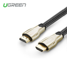 New Ugreen premium version HDMI cable 1m 2m 3m male to male 1.4v 3D for apple TV Android Xbox 360 laptop PS4 PS3 to TV Projector(China)