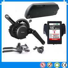 Hot sale bafang mid drive bafang 48V 1000W electric bike motor kits  with 48V 17.5Ah Li-ion down tube ebike battery