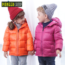 Pioneer Camp Kids 2017 Boys&Girls Down Coat Baby Girls Winter Down Jackets Baby Boys Down Coat Little Boys Outerwear Coat