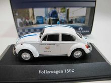 New Atlas 1/43 Scale DieCast Model - Volkswagen 1302 Police Cars Collection