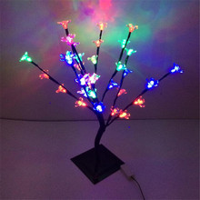 32 Changeable LEDS  outdoor led Cherry Flower tree light for christmas Valentine's Day Peach Flower tree lights decoration