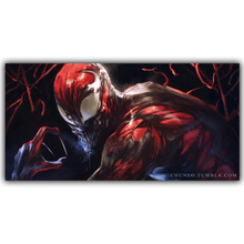 Carnage Spider Man DC Comics Superhero Poster Image For Home Decoration Silk Canvas Fabric Print Poster Wallpape DY1032