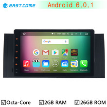 "9"" 1024*600 Android 6.0.1 Octa Core 2GB RAM Car DVD Player for BMW 5 Series X5 E39 E53 E38 M5 1996-2007 Range Rover Radio GPS(China)"