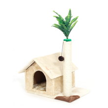 Domestic Delivery Cat House Toy Scratching Wood Climbing House Cat Scratchers Jumping Toy for Cat Furniture Scratching Post
