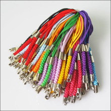 30Pcs Mixed Cell&Mobile Phone Dangle Strap/Lariat Charm Lanyard Cords 86mm(China)